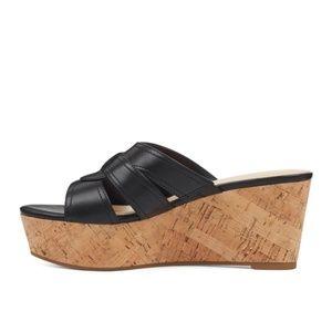 NWT Nine West Vivica Platform Wedge Sandals 8.5